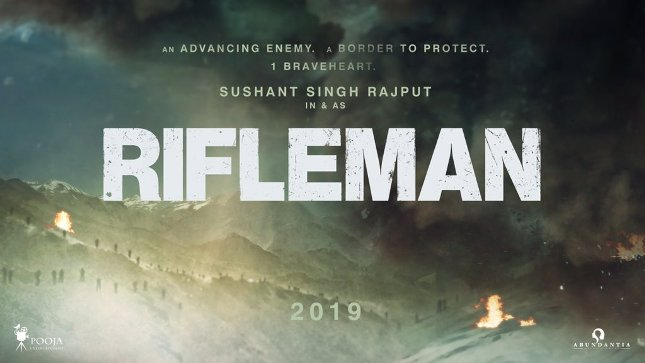 Rifleman new upcoming movie first look, Poster of Sushant Singh next movie download first look Poster, release date
