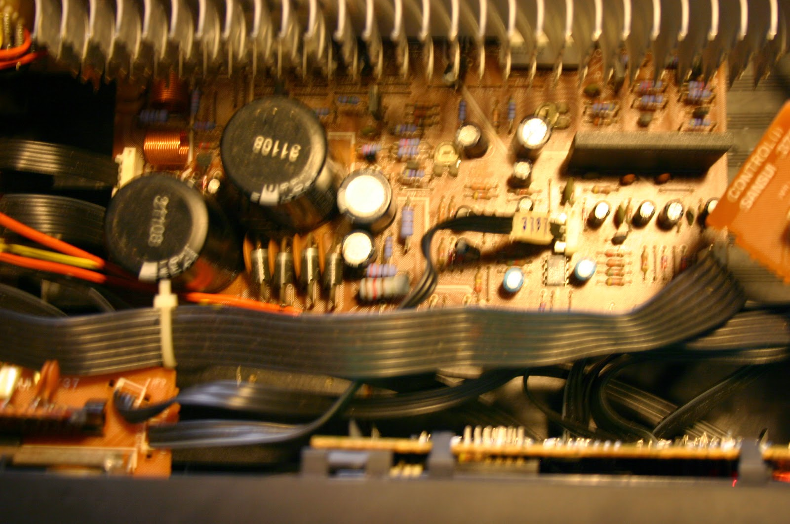 Electronics Repaired: Sansui A 910 Integrated Amplifier