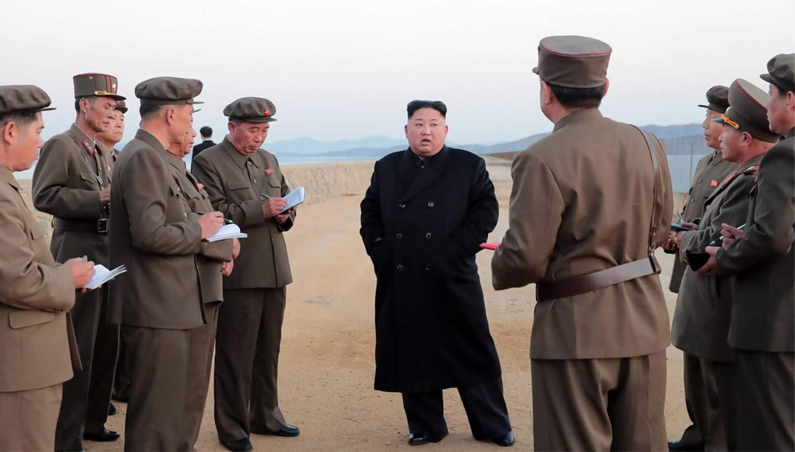 Korea Utara melakukan tes senjata baru