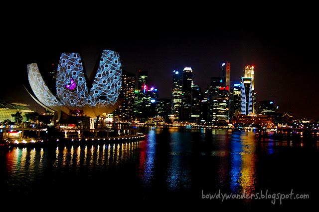 bowdywanders.com Singapore Travel Blog Philippines Photo :: Singapore :: Marina Bay Sands at Night