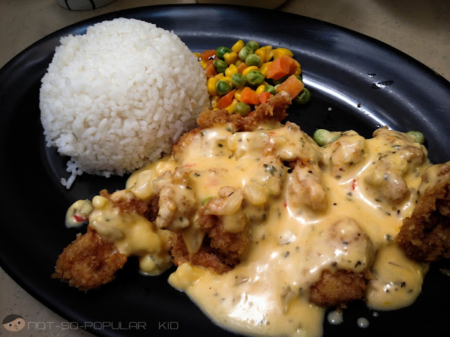 Chicken Asiago of Caric's Republic in Agno