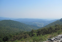 View of the blue ridge from Grayson County