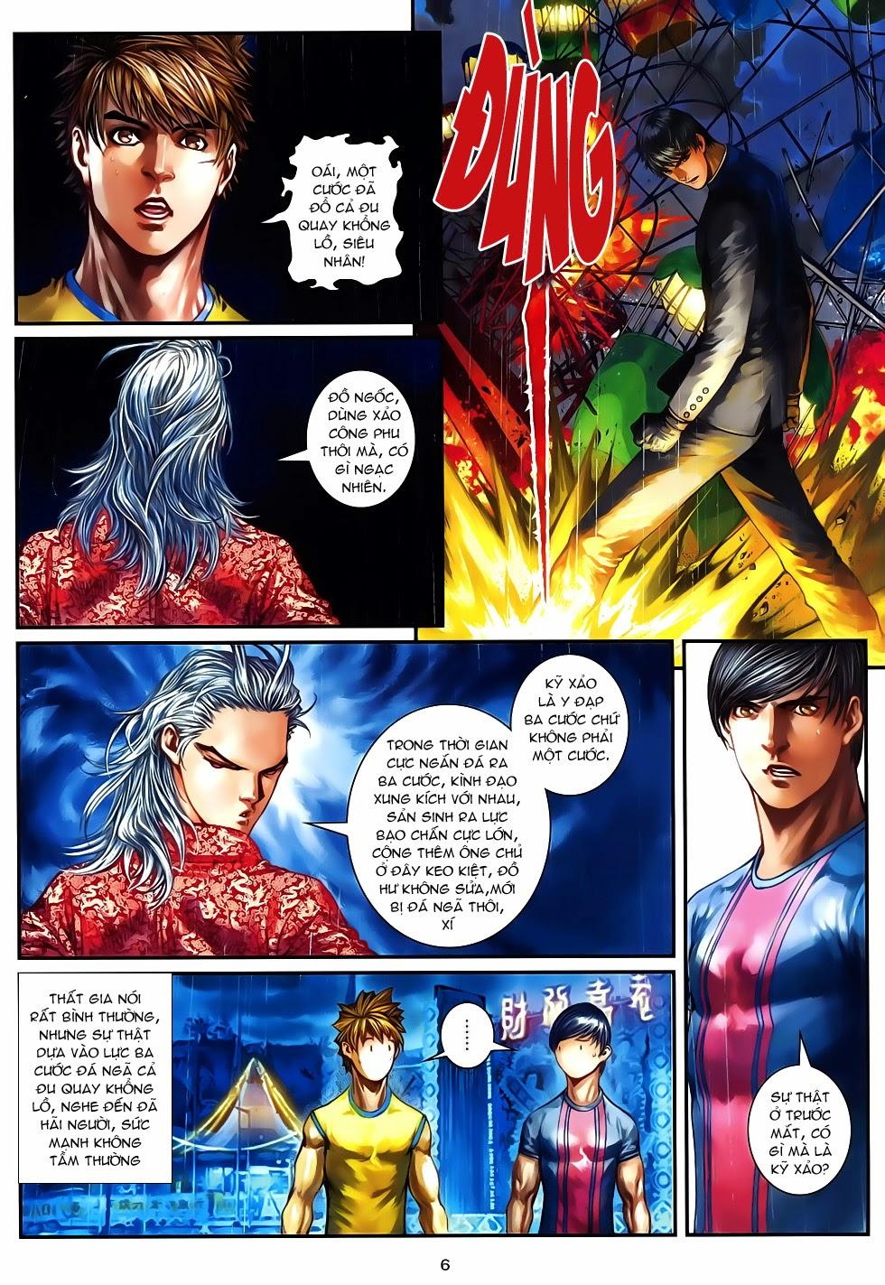 Quyền Đạo chapter 12 - end trang 6