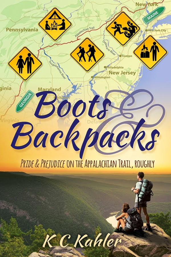 Book Cover - Boots & Backpacks by KC Kahler