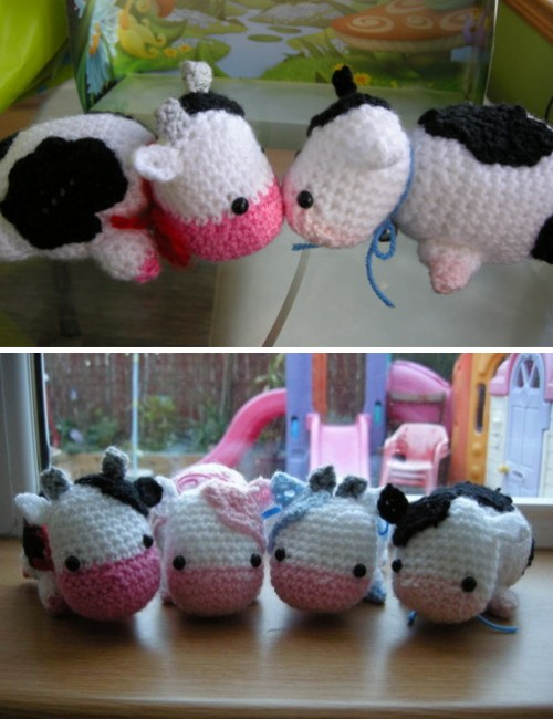 Amigurumi Cow - Free Pattern