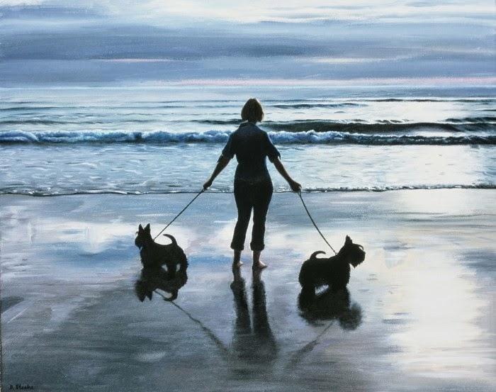 Британский художник. David Stooke