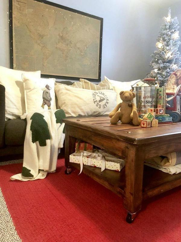 Christmas thrift store challenge