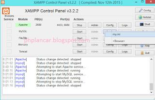 9 - Tutorial Mengganti Port Pada Mysql Dan Apache Di Xampp Versi Terbaru