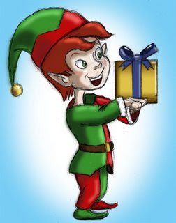 christmas elf pictures and wallpaper