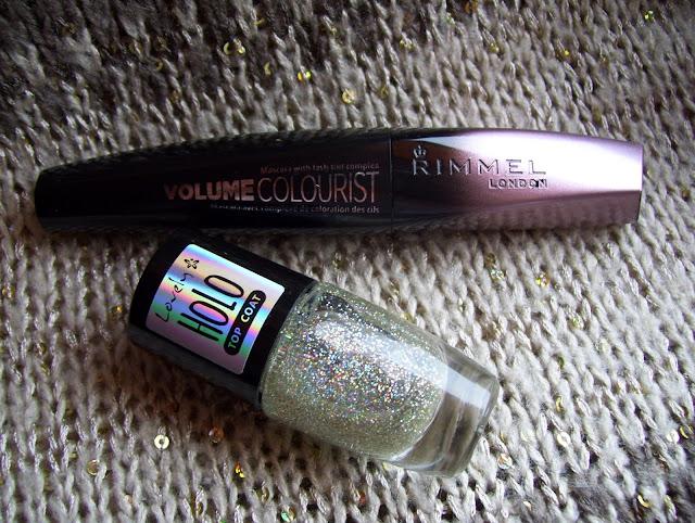 Tusz barwiący rzęsy czyli Mascara Rimmel - Volume Colourist.