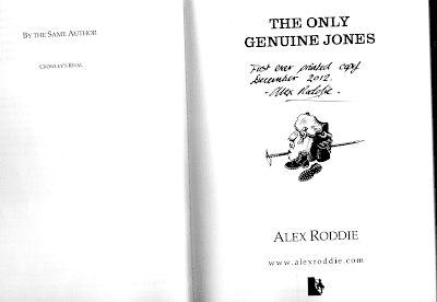 """The Only Genuine Jones"" first edition ... now extremely rare"