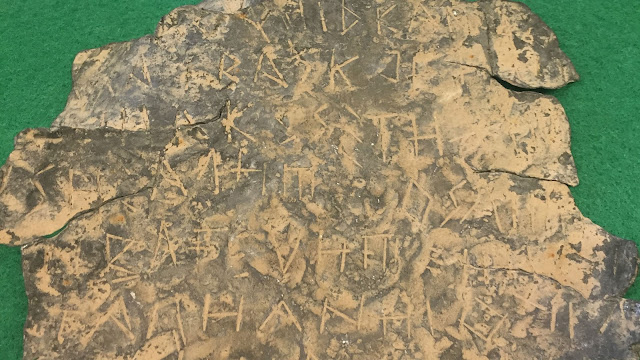 Rare Iberian engraved lead foil among 748 looted artefacts recovered by Spanish authorities