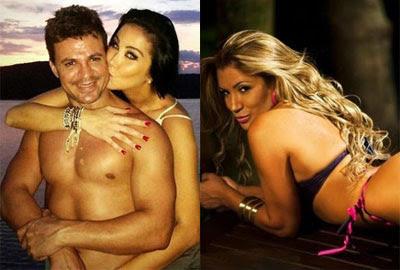 """Ex-namorada revela foto íntima e apelido de sertanejo que está com Helen Ganzarolli: """"Anão"""""""