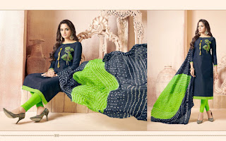 Jinesh nx Aangi vol 1 Cotton Churidar dress material