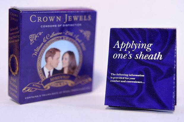 Pix Magazine: Royal wedding promotional products