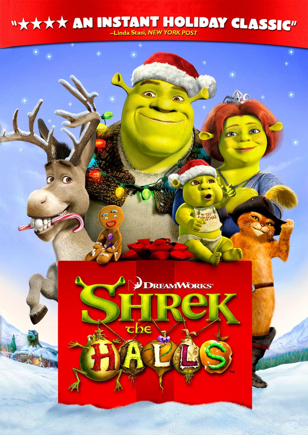 Shrek the Halls [2007] [DVDR] [NTSC] [Latino]