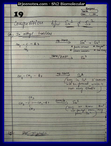 SN2 Biomolecular Org Notes8