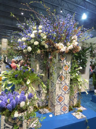 Philadelphia Flower Show 2020- Mare Nostrum Tile