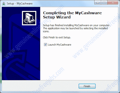 My cashware installation procedure, step - 2