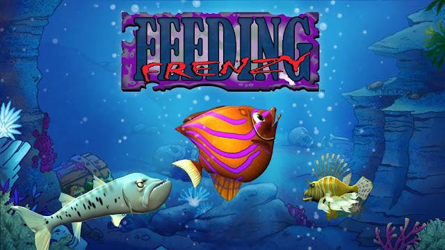 تحميل لعبة السمكة Feeding Frenzy القديمة للكمبيوتر من ميديا فاير