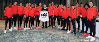 Sergio Ramos llegó a los 600 partidos de blanco