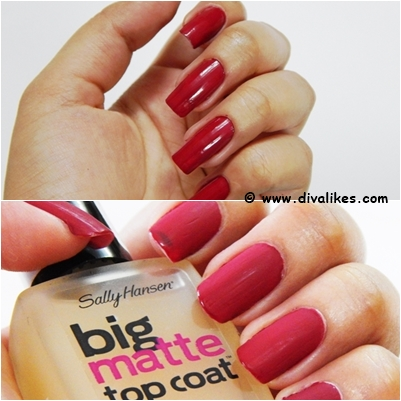 Sally Hansen Big Matte Top Coat Shade