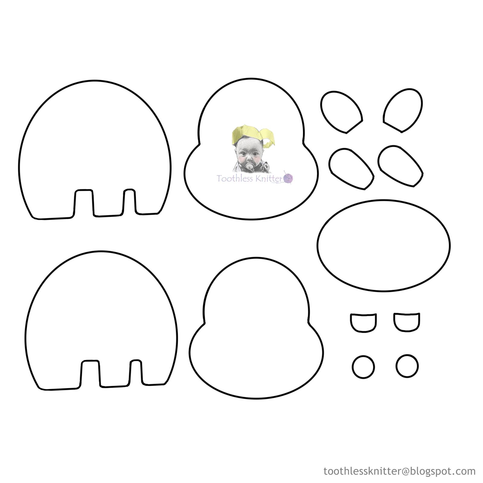 Felt Baby Name Banner for Nursery - Hippo/ Filcowy Baner Imienny do Pokoju Dziecięcego - Hipopotam