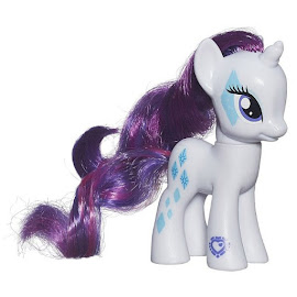 MLP Friendship Flutters Rarity Brushable Pony