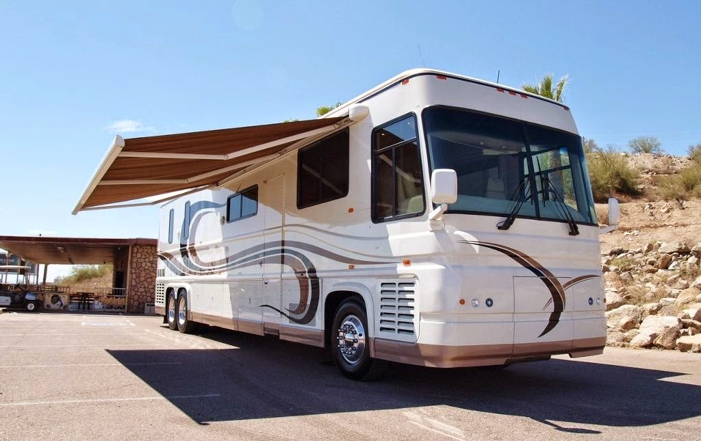 Used Rvs 1997 Newell 45 With Phantom Slide Out Room For