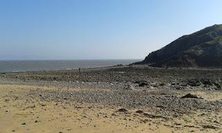 Mumbles pier beach