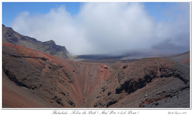 Haleakala: Follow the Path! And Don't look Down!