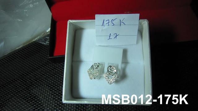 trangsuc.top - Bông tai kiểu phối đá trắng cao cấp MSB012 - Giá: 175,000 VNĐ - Liên hệ mua hàng: 0906 846366(Mr.Giang)