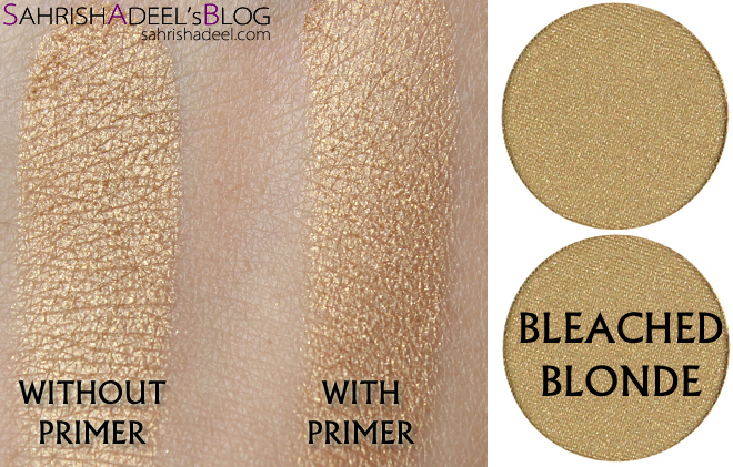 Makeup Geek Pressed Eyeshadows - Bleached Blonde