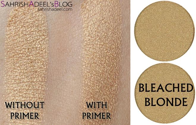 Makeup Geek Pressed Eyeshadows - Bleached Blonde