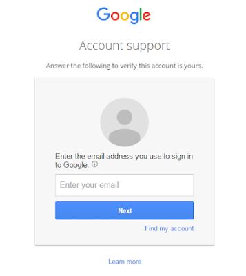 Cara Mengembalikan Nama Pengguna dan Kata Sandi Gmail