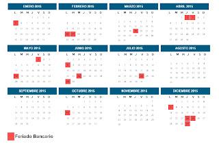 Calendario bancario y feriados de Venezuela