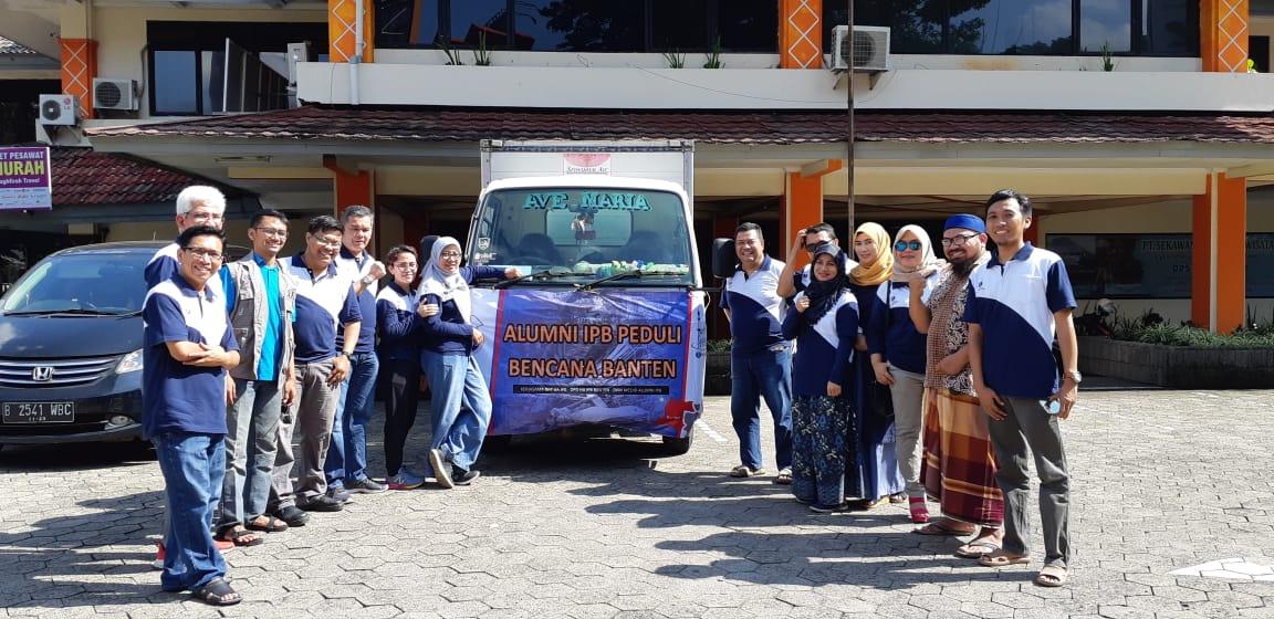 Himpunan Alumni IPB Peduli Korban Bencana Banten dan Lampung