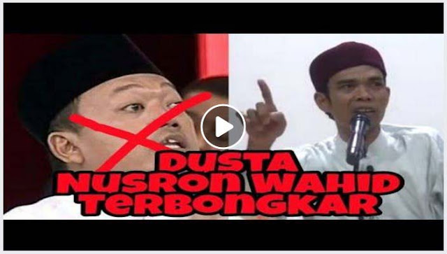 [Video] Jleb.. Ustadz Abdul Somad Bongkar Kebohongan Nusron Wahid