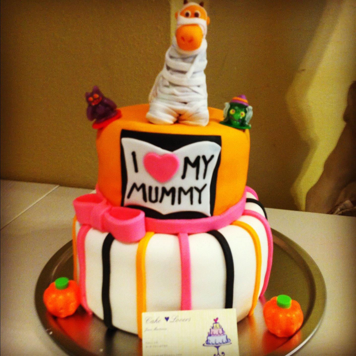 Cake Lovers I Love My Mummy Baby Shower