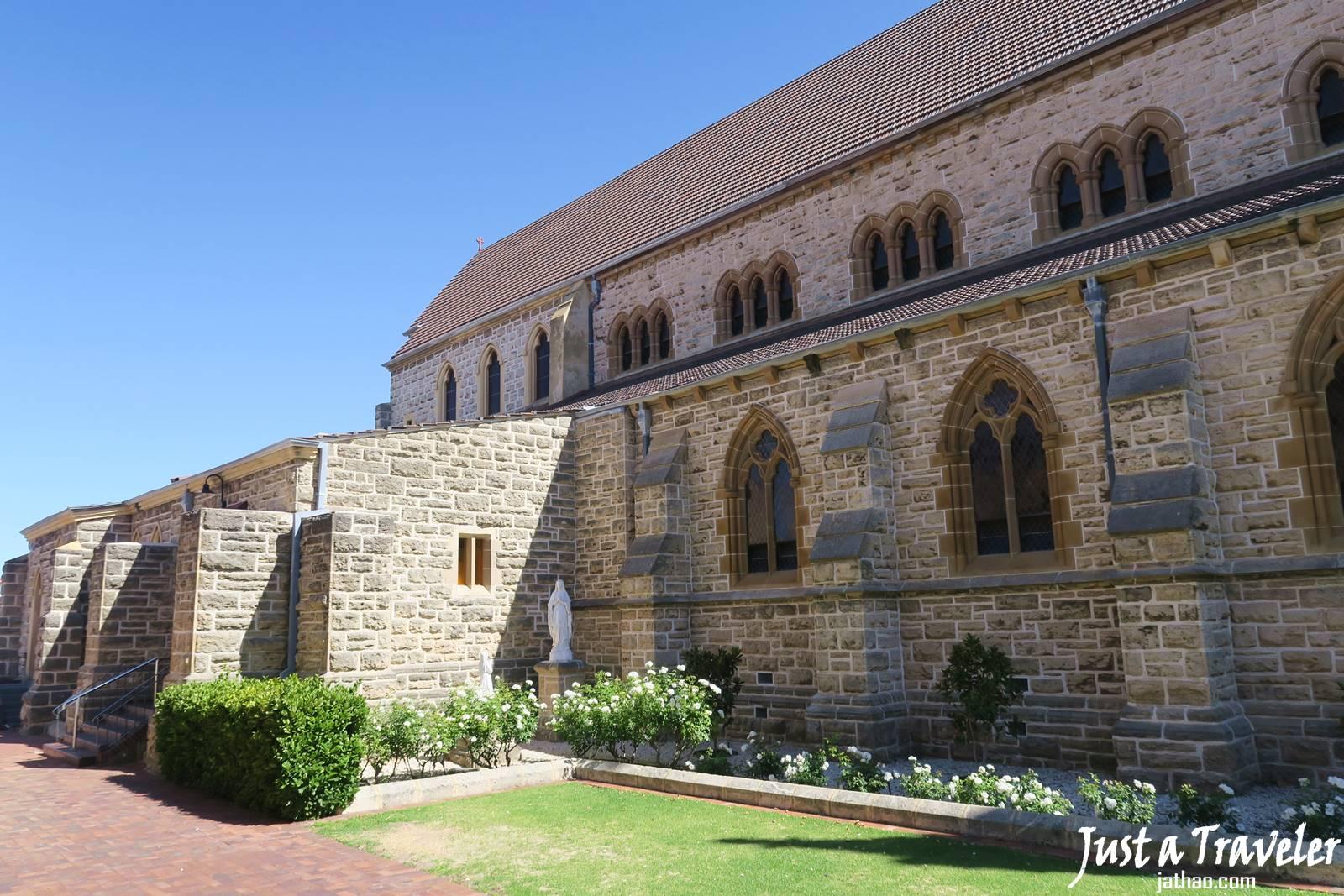 伯斯-推薦-景點-費里曼圖-Fremantle-聖巴德利爵聖殿-St.-Patrick-Basilica-Church-自由行-交通-必去-必玩-美食-旅遊-行程-一日遊-遊記