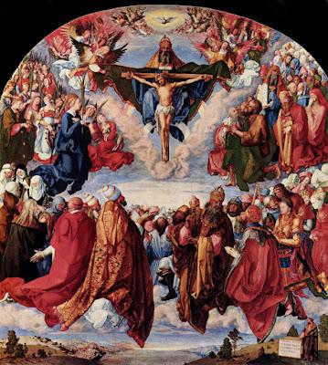 Adoración de todos los Santos a la Santísima Trinidad (Alberto Durero)