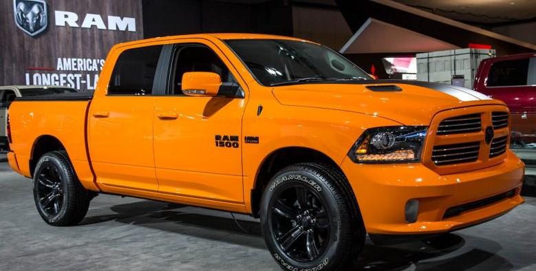 2017 new ram 1500 ignition orange sport editions otomotif news. Black Bedroom Furniture Sets. Home Design Ideas