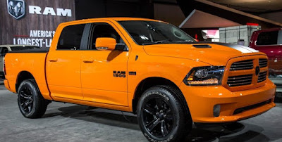 2016 New Ram 1500 Ignition Orange Sport Editions