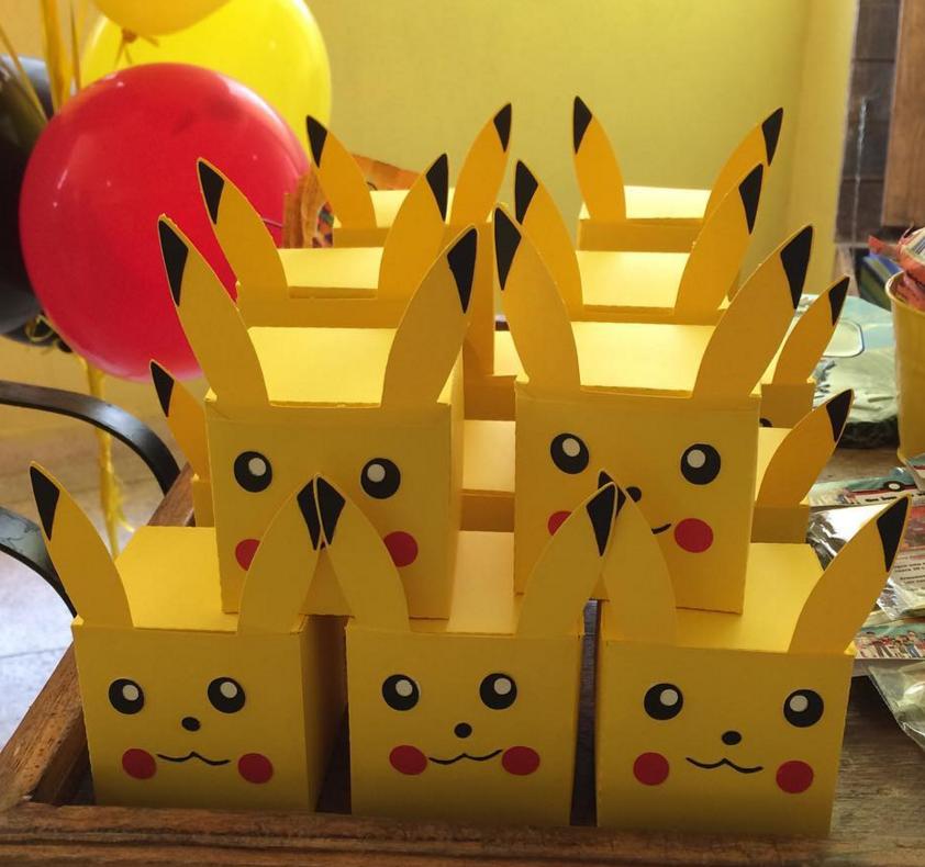 fiesta tem tica de pokemon