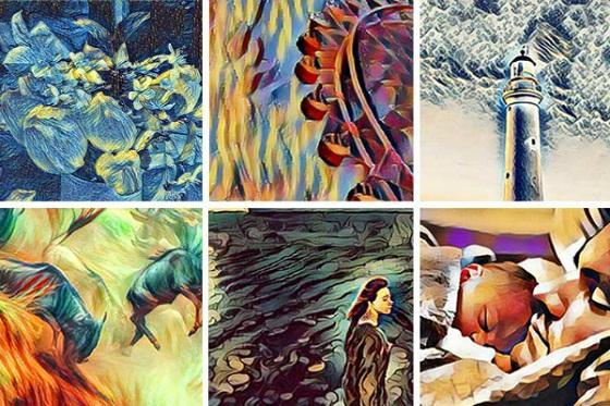 Efek Foto Lukisan Art