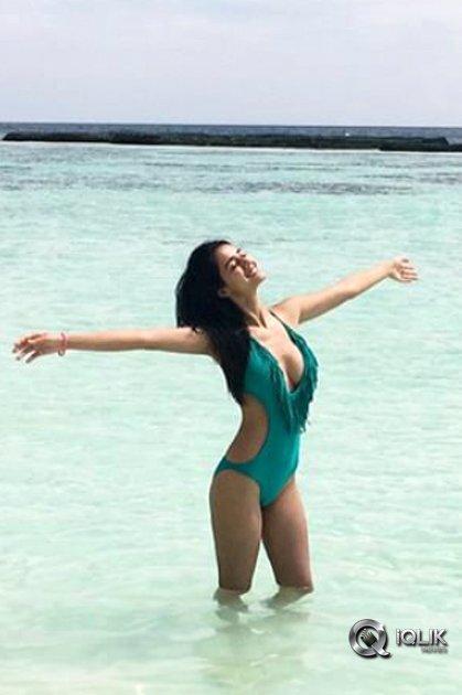 Disha Patani in Bikini Swimsuit