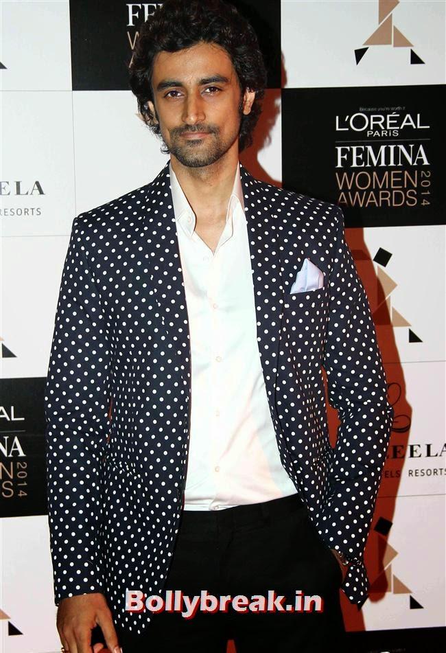 Kunal Kapoor, L`Oreal Paris Femina Women Awards 2014