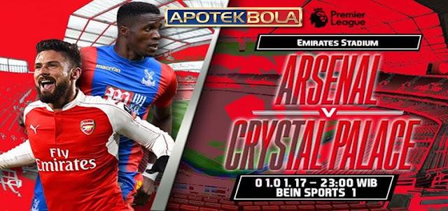 Prediksi Pertandingan Arsenal vs Crystal Palace 1 Januari 2017