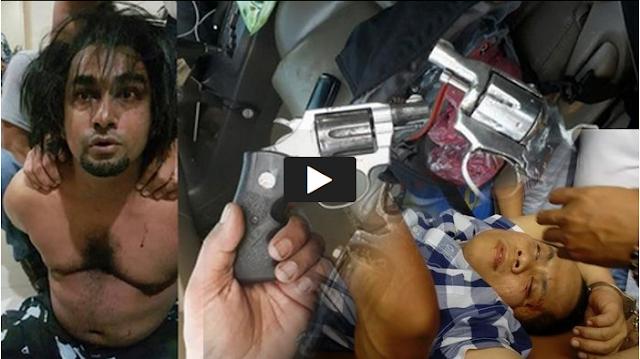 CCTV Pelaku Cuek Tembak Pengusaha Airsoft Gun di Tengah Keramaian Kota Medan