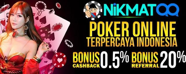Agen Poker Terbaik Terpercaya Dan Murah - Nikmatqq.net